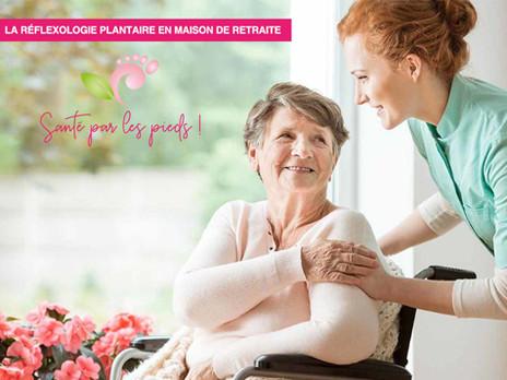 La réflexologie plantaire en maison de retraite