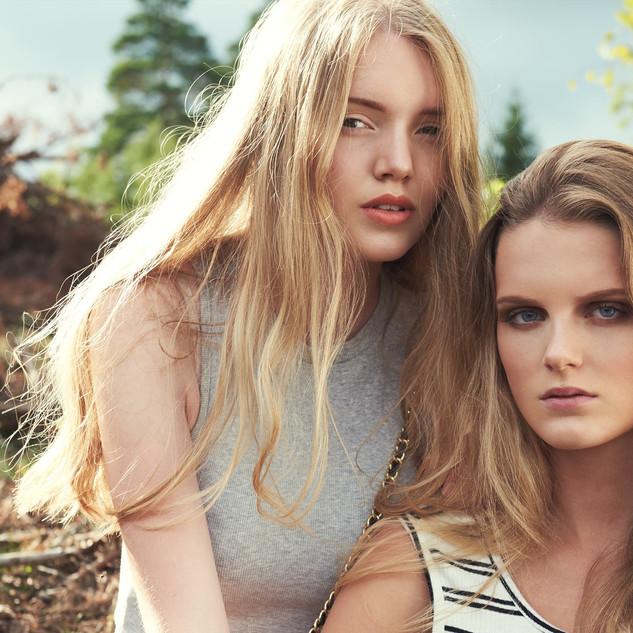JOHANNA B & SOFIE A, Lind Models