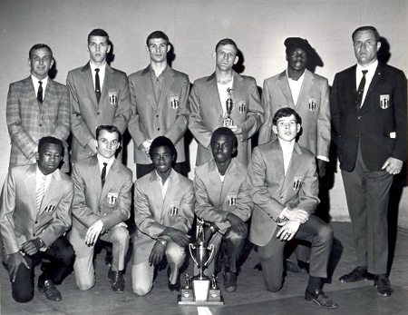 1970 Mid-South Golden Gloves Champions (Joey - Back Row Second From Left)