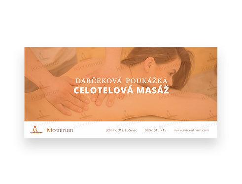 Celotelová masáž (60 min.)