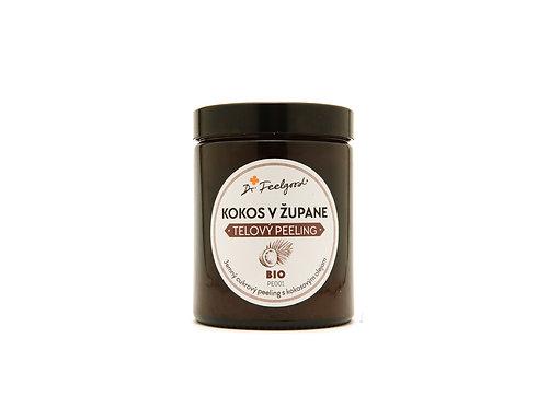 BIO telový peeling Kokos v župane