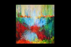 """Abstrakte Landschaft"""
