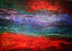 """Rote Landschaft"""