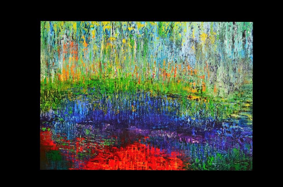 """"""" Erinnerung an Monet"""""""
