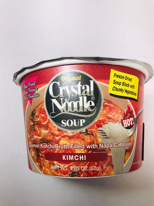 Crystal Noodle Soup Kimchi