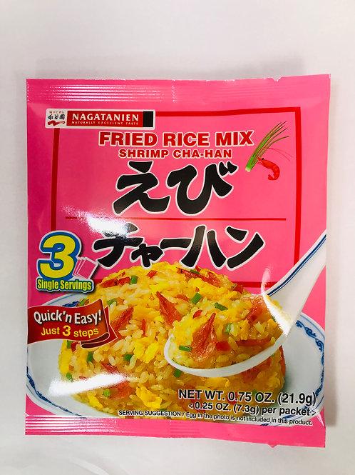 Nagatanien Chahan Fried Rice Seasoning Shrimp