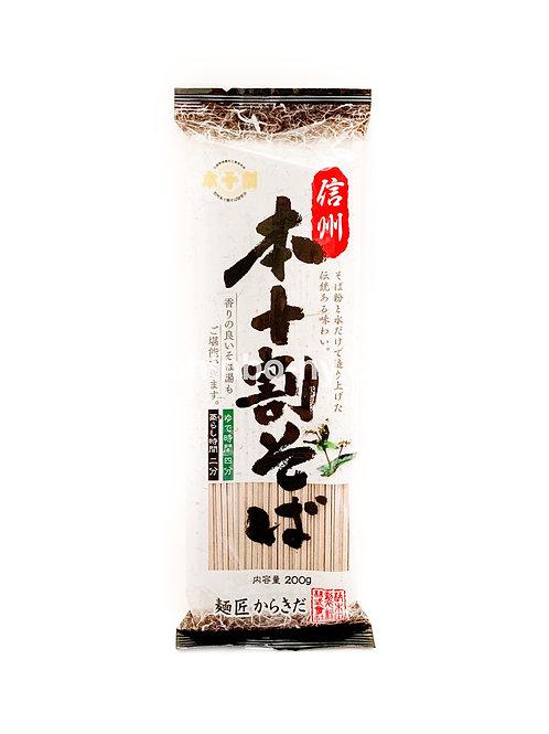 Karakida Shinshu Honjyuwari Soba Dried Buckwheat Noodle