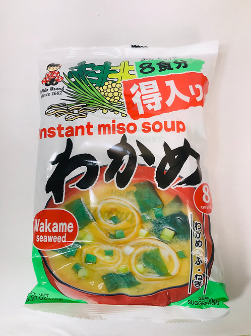 Shinsyuichi Instant Miso Soup Seaweed