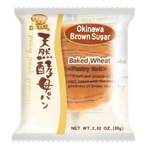 D-PLUS Baked Wheat Cake Okinawa Brown Sugar