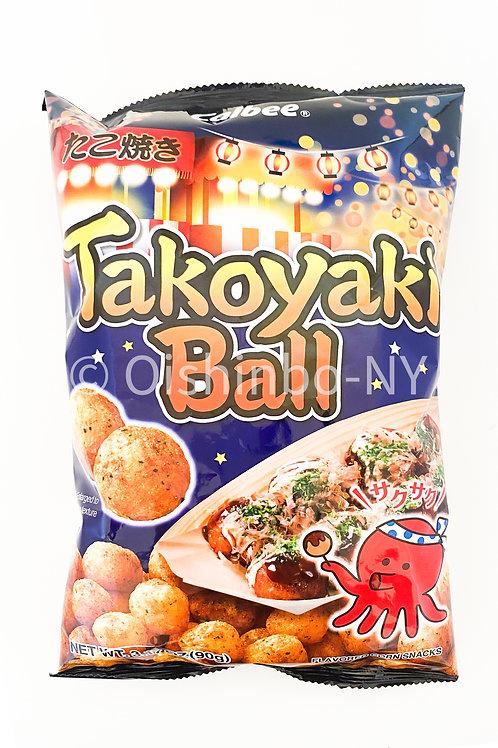 Calbee Takoyaki Ball Snack