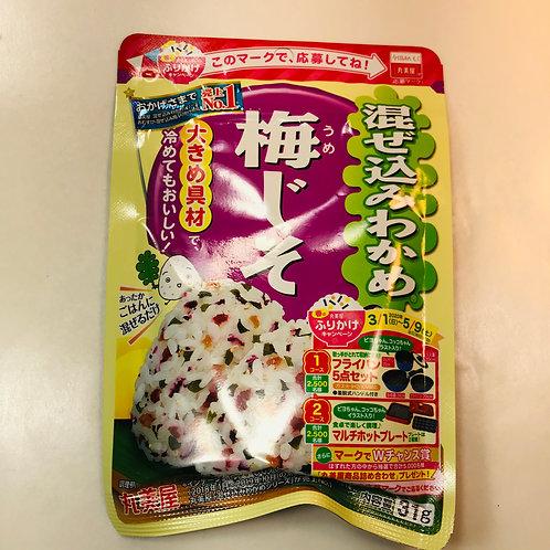Marumiya Mazekomi Seaweed Furikake Plum Shiso