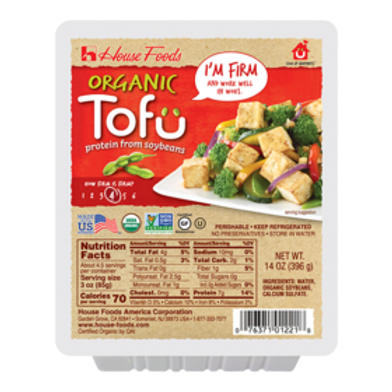 House Organic Tofu Firm