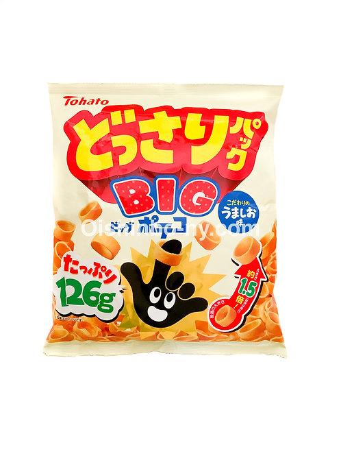 Tohato Dossari Pack Big Poteko Potato Snack Salt