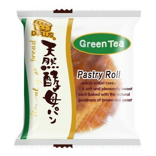 D-PLUS Baked Wheat Cake Match Green Tea