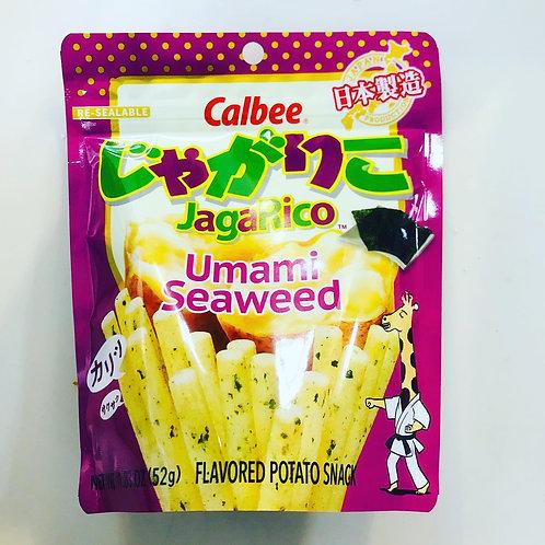 Calbee JagaRico Umami Seaweed