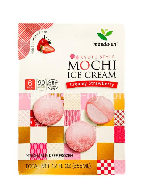 Maeda-en Mochi Ice Cream Creamy Strawberry
