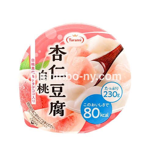 Tarami Annin Tofu Jelly Peach
