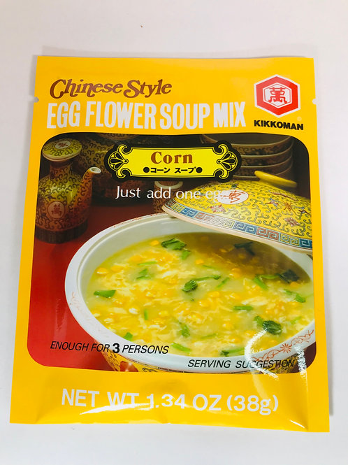 Kikkoman Egg Flower Soup Mix Corn