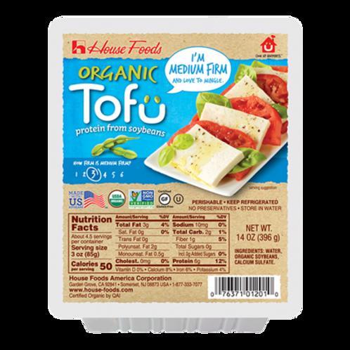 House Organic Tofu Medium