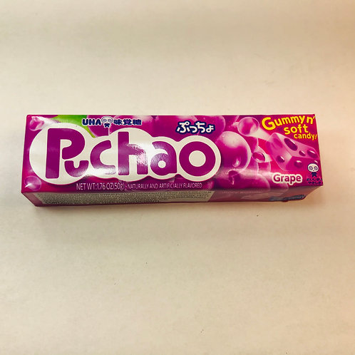 Mikakuto Puchao Gummy and Soft Candy Grape