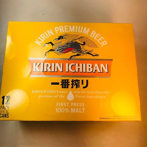 Kirin Ichiban Shibori Beer 12 Pack