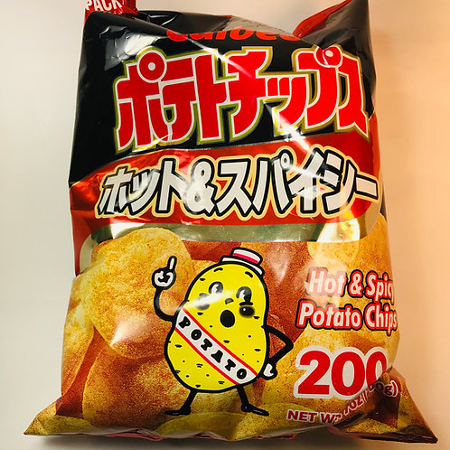 Calbee Potato Chips MEGA Spicy