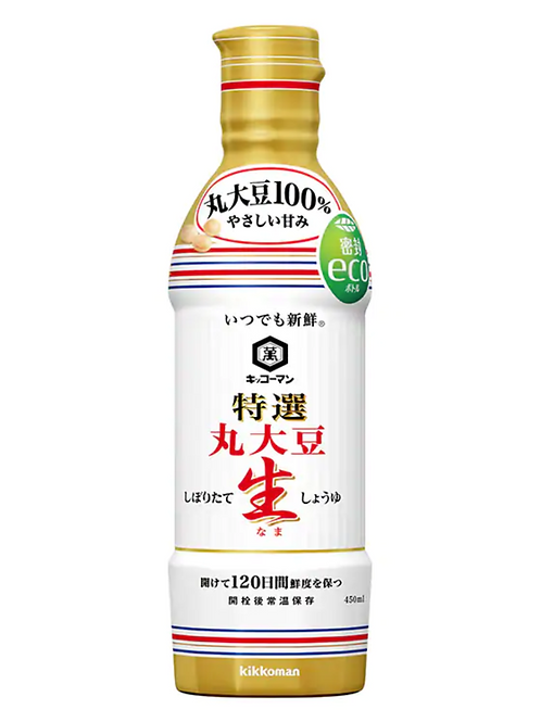 Kikkoman Nama Soy Sauce Marudaizu Fresh Soy Sauce