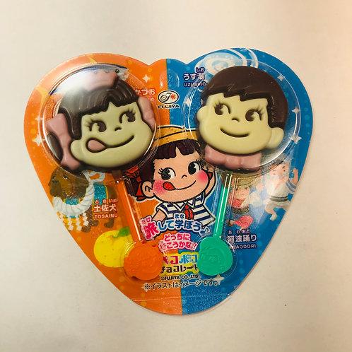 Fujiya Peko Poko Choco Chocolate