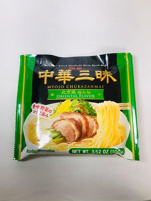 Myojo Chukazanmai Ramen Oriental Salt