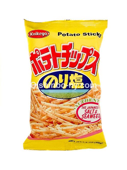 Koikeya Potato Sticks Salt & Seaweed