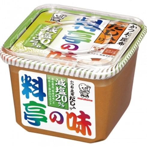 Marukome Ryoutei no Aji Miso Low sodium