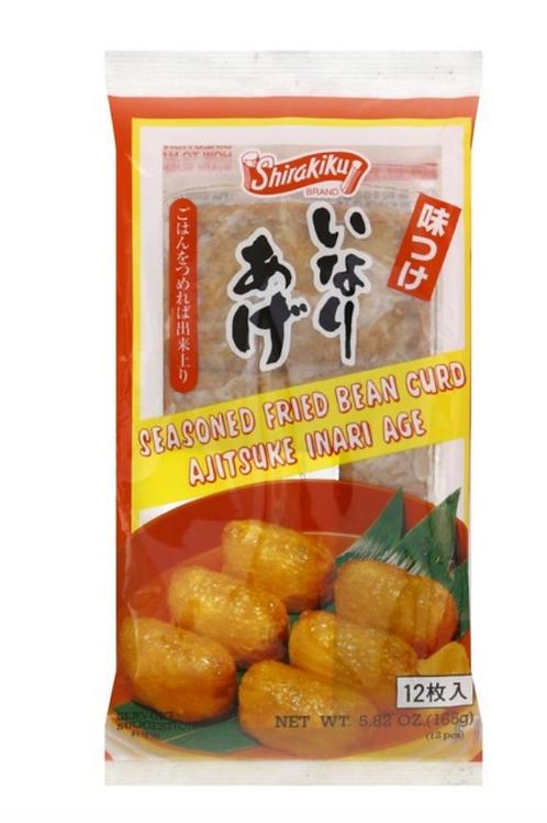 Shirakiku Inari Seasoned Fried Bean Curds