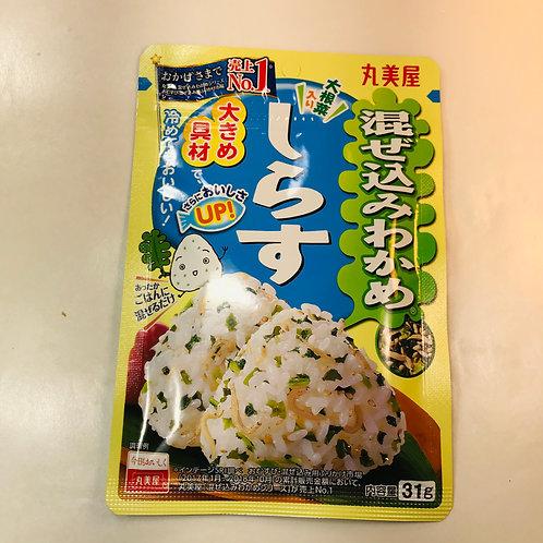 Marumiya Mazekomi Seaweed Furikake Shirasu Whitebait
