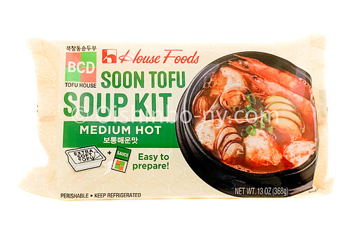 House Foods BCD Soon Tofu Soup Kit Medium Hot