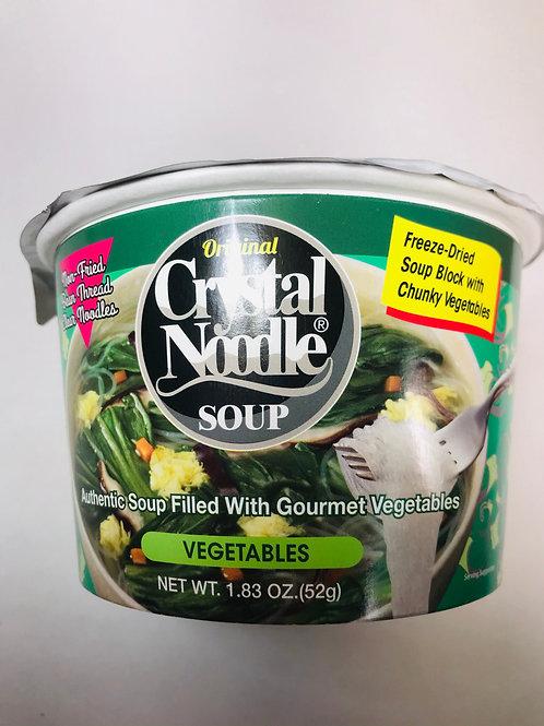 Crystal Noodle Soup Vegetables