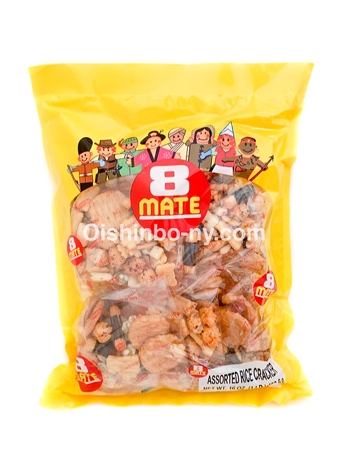 Shirakiku 8 MATE Rice Crackers