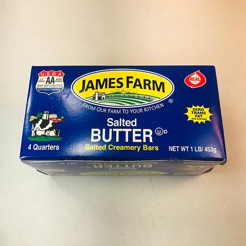 James Farm Salted Butter