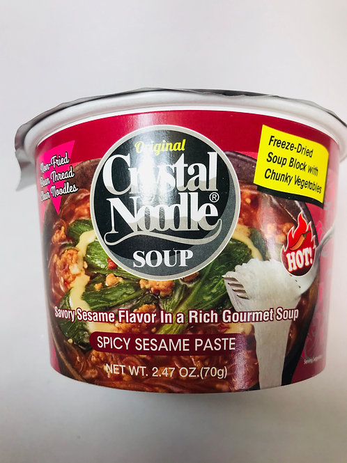 Crystal Noodle Soup Spicy Sesame Paste