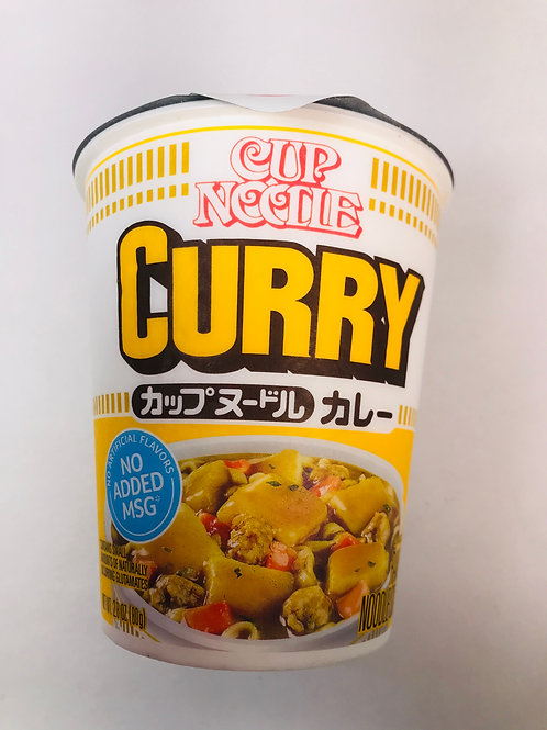 Nissin Cup Noodle Curry