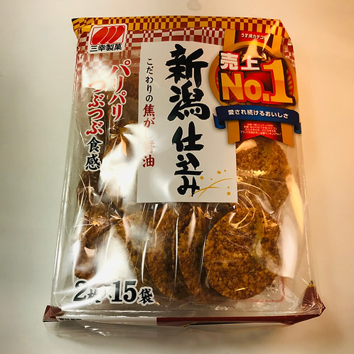 Sanko Niigata Jikomi Shoyu Rice Crackers