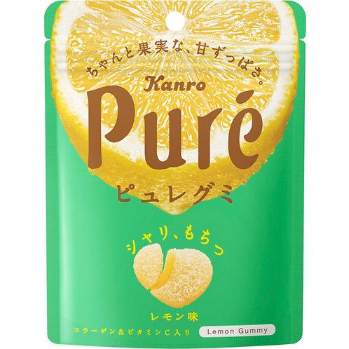 Kanro Pure Gummy Lemon