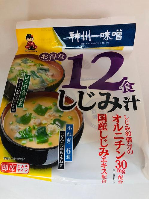 Shinsyuichi Shijimi Clam Miso Soup Original
