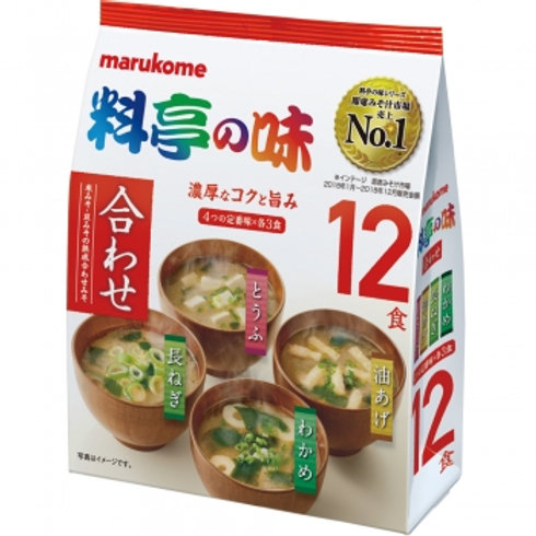 Marukome Ryoutei no Aji - Instant Miso Soup Original