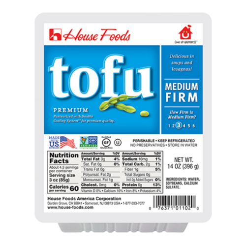 House Premium Tofu Medium Firm