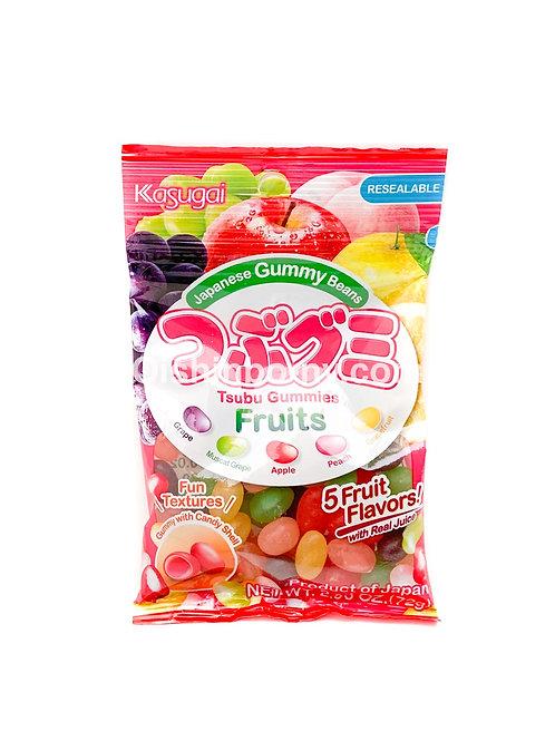 Kasugi Tsubu Gummies Fruits