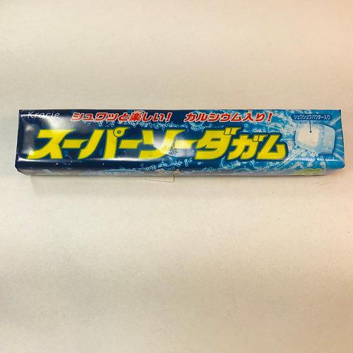 Kracie Super Soda Gum