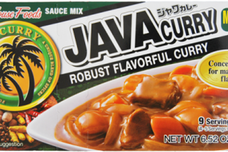 House JAVA Curry Sauce Mix