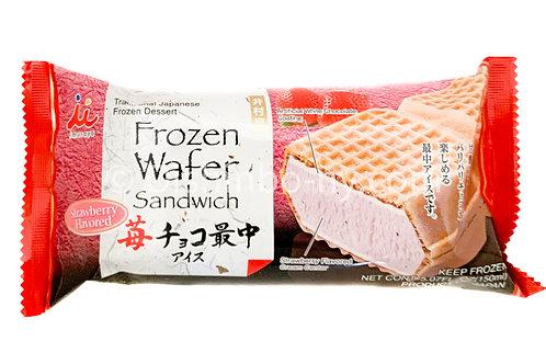 Imuraya Frozen Wafer Sandwich Strawberry