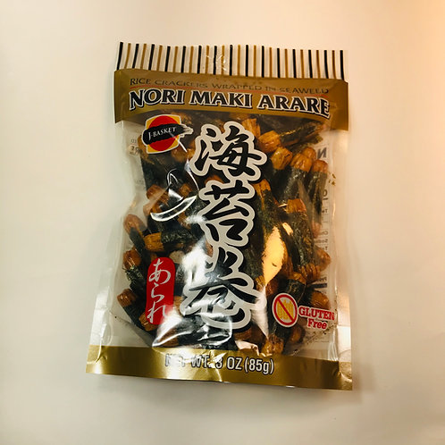 JFC Nori Maki Arare Rice Crackers