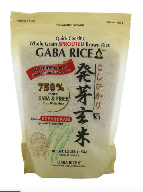 GABA RICE Whole Grain Sprouted Brown Rice